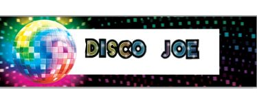 1970s Disco Fever Giant Party Banner - 1.7m