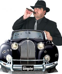 1920s Gangster Car Photo Prop