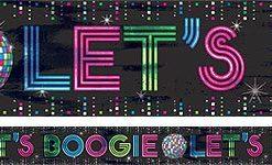 70s Disco Fever Foil Banner - 7.6m