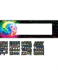 1970s Disco Fever Giant Party Banner