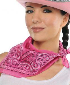 Pink neckchief Bandana
