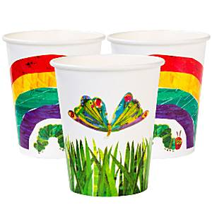 Hungry Caterpillar Party Paper Cups