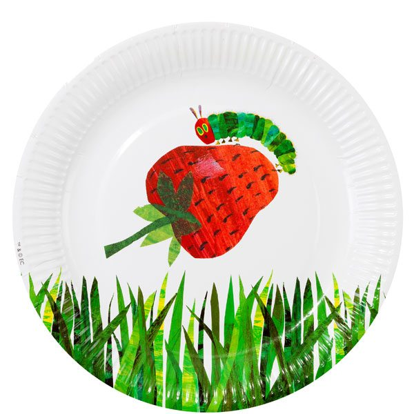 Hungry Caterpillar Party Plates