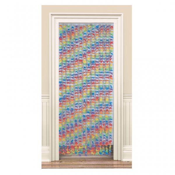Lei Flowers Door Curtain