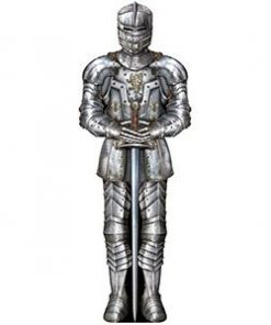Jointed Suit Of Armor Cutout - 1.8m