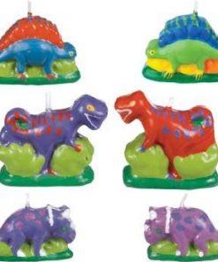Dinosaur Mini Molded Cake candles