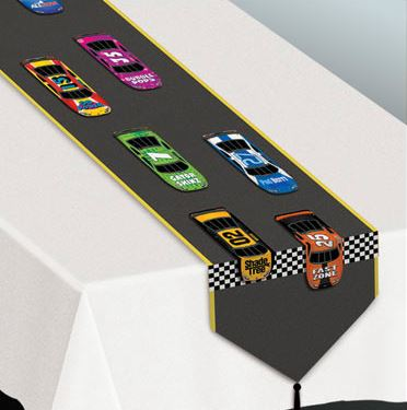 Racing Car Table Runner Decoration