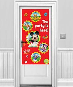 Mickey Mouse Party Door Banner