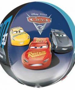 Disney Cars 3 Party Cars Clear Orbz Balloon