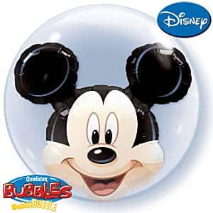Mickey Mouse Party Double Bubble Balloon