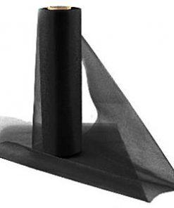 Black Organza Sheer Roll