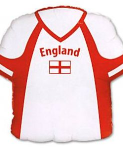 England Football Shirt Shaped Foil Balloon