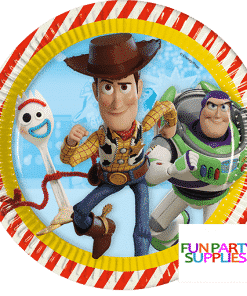 Toy Story 4 Party Paper Plates