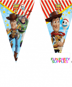 Toy Story 4 Party Plastic Bunting