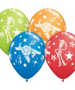 Toy Story Party Printed Latex Balloons