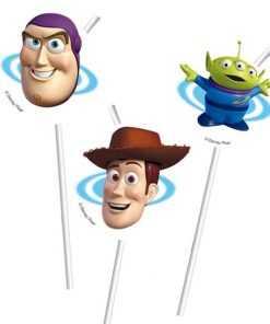 Toy Story Party Novelty Drinking Straws