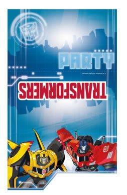 Transformers Party Folded Invitations