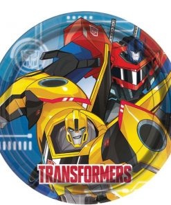 Transformers Party Paper Plates