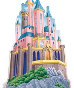 Disney Princess Castle Cardboard Cutout