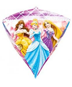 Disney Princess Diamondz Shaped Foil Balloon