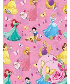 Disney Princess Wrapping Paper & Tags