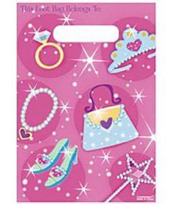 Prismatic Princess Party Plastic Loot Bags