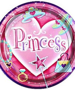 Princess Party Paper Plates