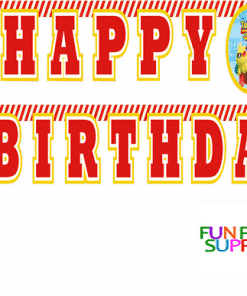 Toy Story 4 Party Happy Birthday Banner