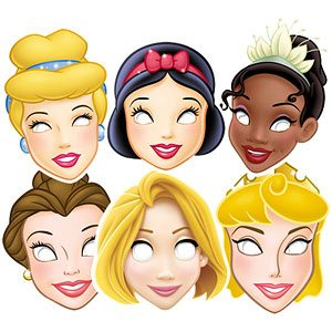 Disney Princess Masks