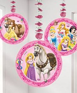 Disney Princes Hanging Swirls