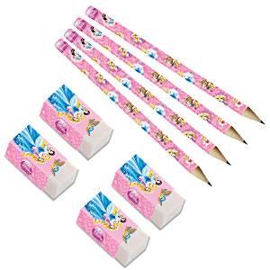 Pencils & Erasers (8pk)