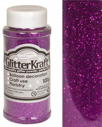 Amethyst Balloon Glitter