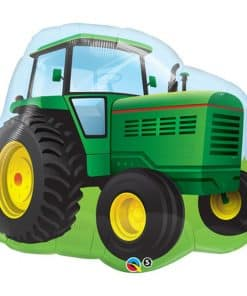 Birthday Farm Tractor Supershape Balloon - 34""