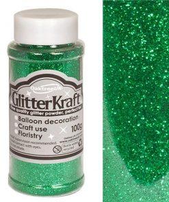 Emerald Green Balloon Glitter