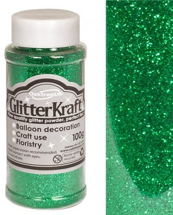 Emerald Green Balloon Glitter