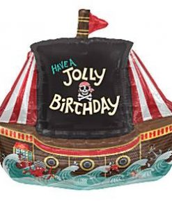 Jolly Pirate Ship Balloon