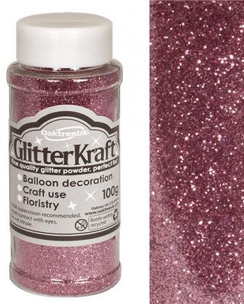 Light Pink Balloon Glitter