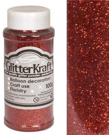 Red Balloon Glitter