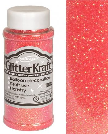 Sugar Pink Balloon Glitter