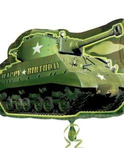 Tank Shaped Camouflage Supershape Balloon