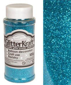 Turquoise Balloon Glitter