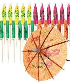 Cocktail Umbrella Picks - 10cm