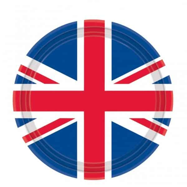 Great Britain Paper Plates