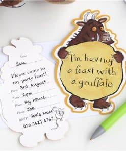 Gruffalo Party Invitations