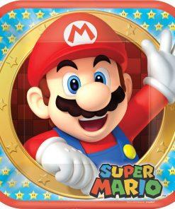 Super Mario Party Paper Plates