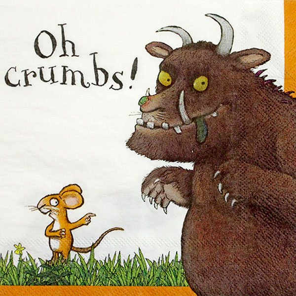 The Gruffalo Party Paper Napkins