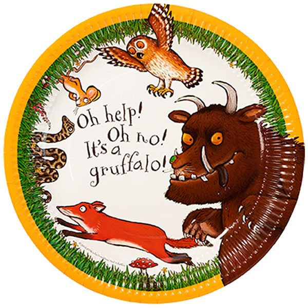 The Gruffalo Party Paper Plates