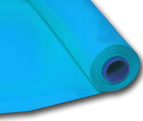 Turquoise Table Banqueting Plastic Roll