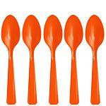 Orange Spoons