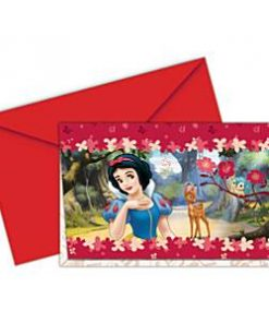 Snow White Invitation Cards